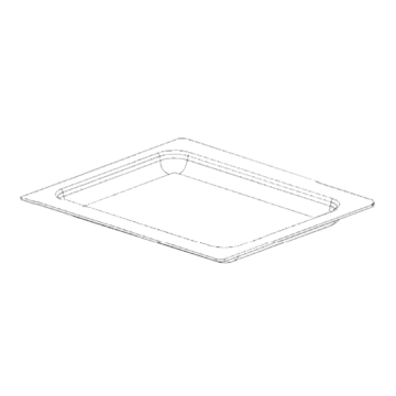 Tray oven rectangular