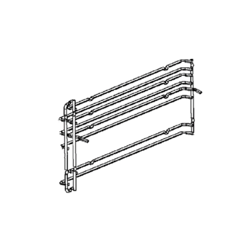 Rack Oven Side Right Hand